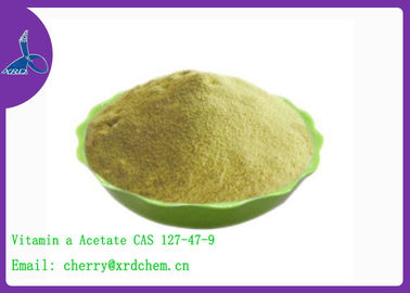 China Nutritional Food Additive Nutritional Additive CAS 127-47-9 Vitamin a Acetate Water Soluble distributor